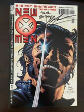 New X-Men #115 Marvel 2001 NM- 9.2 Signed Grant Morrison + Frank Quitely