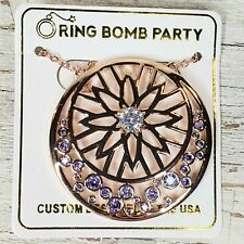 Ring Bomb Party THREE WISHES ARABIAN NIGHTS NECKLACE LIGHT AMETHYST RBP2542