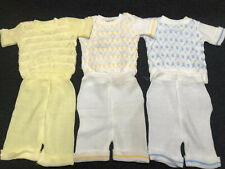Very Nice Vintage Clothing Lot Of 3 Outfits For Baby. (692)