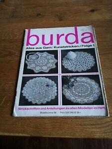 burda /Alles Aus Garn:Kunststricken /Folge 1 /mit Strickmusterblatt