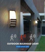 Modern Porch Light Waterproof IP65 Radar Sensor Wall Lamps Courtyard Garden AC90