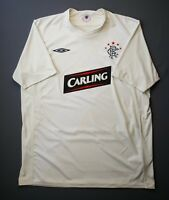 4.6/5 Rangers soccer third jersey 2009 2010 shirt size XL football Umbro