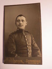 Saarbrücken - Soldat in Uniform - Regiment IR 70 / CDV