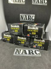 5x Scotch Color Print HR 100 12 exp 126 Film 3M Kodak Expired film out of date