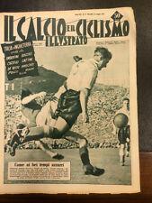 Il calcio e il ciclismo illustrato 1952 N° 21 Italia Inghilterra    23/6
