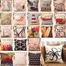 Cotton Linen Pillow Case Sofa Waist Throw Cushion Cover Home Decor Pillowcase