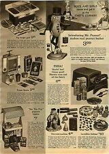 1967 ADVERTISEMENT Mr. Peanut Figure Peanut Butter Making Machine Freeze Queen