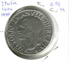 Italia / Italy - 1 lira - 1940 - magnetic - high grade coin