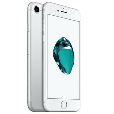 APPLE iPHONE 7 128GB RICONDIZIONATO GRADO A SILVER ORIGINALE RIGENERATO USATO