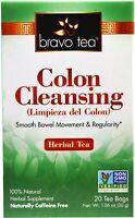 Colon Cleansing Tea by BRAVO TEA, 20 tea bag