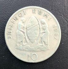 Tanzania 10 shillings 1987