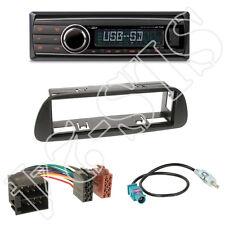 Caliber rmd212 autoradio + Mercedes Sprinter 1-din diafragma negro + adaptador ISO