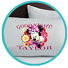 Minnie Mouse Merchandise Merch Personalized Bedding Pillow Pillowcase Gifts