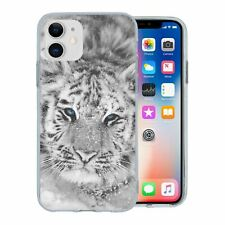 For Apple iPhone 11 Silicone Case Tiger Photo - S2785