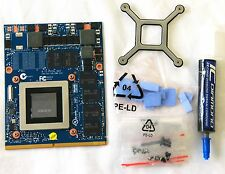 Dell Precision M6800 VGA Upgrade Kit; NEW NVIDIA GTX 970M; 6GB DDR5; MXM 3.0b