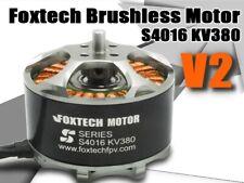 6x Foxtech V2 Brushless Motor S4016 KV380