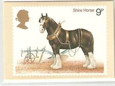 Elizabeth II (1952-Now) Horses Great Britain PHQ Cards