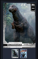 Godzilla Topps NFT Series 1 Common White Gojirasaurus Mint #3042/5824