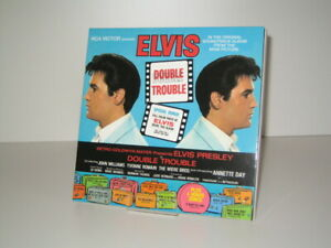 "CD Elvis Presley - Double Trouble (2004 FTD 7"")"