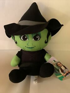 "WICKED WITCH WIZARD OF OZ 13"" PLUSH NWT BIG HEAD Warner Brothers by Toy Factory"