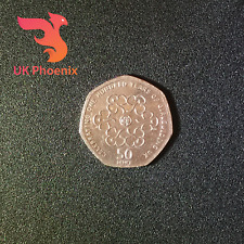 2010 GIRL GUIDING ~ 50p ~  Fifty Pence ~Celebrating 100 Years~ Rare Coin Hunt UK