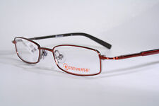 Toddler Size CONVERSE 'SHIMMY' Cool Small Kids' Gunmetal Red Eyeglass Frames NEW