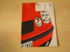 50499) VW Polo 9N Prospekt 09/2001