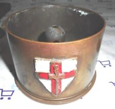 WW ll Trench Art 1942 St George Cross Crusader's Sword RARE 1st Army Insignia