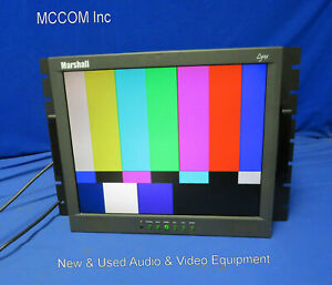 "Marshall M-LYNX-17-RM 17"" LCDTFT Monitor w/ Rack Mount"
