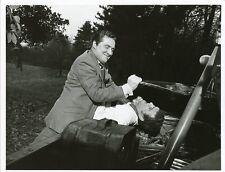 PATRICK MACNEE TONY SELBY FIGHTING THE AVENGERS ORIGINAL 1967 ABC TV PHOTO