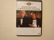 ZBRODNIE I WYKROCZENIA / CRIMES AND MISDEMEANORS -  DVD - Woody Allen