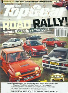 BBC  TOP GEAR MAGAZINE, UK EDITION    ROAD RALLY ! FEBRUARY, 2021    ISSUE # 344