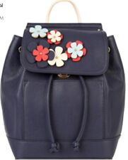 Monsoon Accessorize Katie Mini Floral Backpack Navy Bnwt