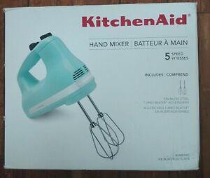 KitchenAid 5-Speed Ultra Power Hand Mixer   Ice Blue