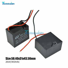 CBB61 AC 1uF 1.2/1.5/1.8/2/3.5/5/6/8/10/12/20uF Appliance Motor Capacitor 450V