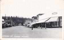 RP: PRINCE GEORGE, British Columbia, Canada, 30-40s; George Street