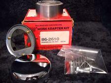 NOS 86-2610 Superior Chrome Steering Wheel Horn Kit-fits 1955-1967 VW Bus&Truck