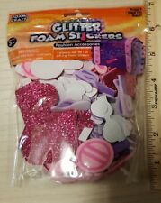 Glitter Foam Craft Foam stickers.makeup, sungl