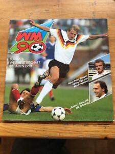 Ferrero-Sammelalbum WM 90, komplett