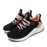 adidas AlphaBOOST W Black Gold Glory Pink White Women Running Shoes EG1431