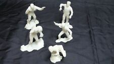 Set of 5 vintage Universal Monsters Glow in the Dark plastic statues!