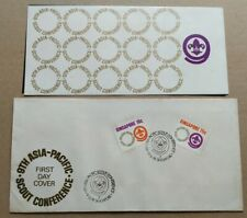 Singapore 1974 The 9th Asia-Pacific Scout Conference 2v Stamps FDC