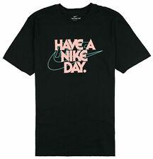 Nike Sportswear Have A Nike Day Graphic T-Shirt Black CJ6987-903 Men's NWT