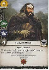 3 x Bowen Marsh AGoT LCG 2.0 Game of Thrones Watchers on the Wall 2