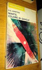 GALASSIA # 209-D.G. COMPTON-MARTE, COLORE DI SANGUE-LA TRIBUNA-FANTASCIENZA-SR31