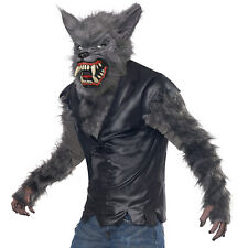 Kids Werewolf Costume Boy Wolf Halloween Full Moon Fury Fancy Dress Child Outfit