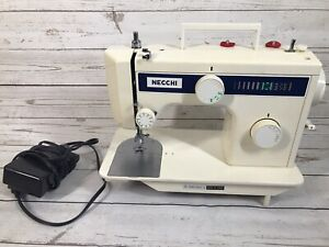 Necchi Sewing Machine 3102 FB Tested Works W Pedal