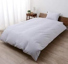 100% Cotton Comforter Cover, Queen Size, Anti-Bacterial, Made in Japan EMOOR