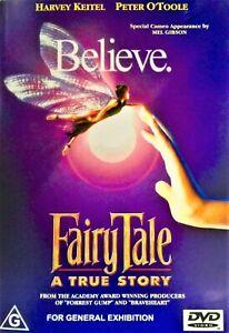 FAIRY TALE - A True Story DVD BELIEVE! DO FAIRIES EXIST? BRAND NEW R4