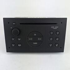 GENUINE Vauxhall / Opel Meriva A CD Radio Head Unit Charcoal 93176251